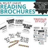 Reading Brochure Handouts for Parents