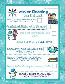 Library Reading No Prep Printables- Seasonal Theme