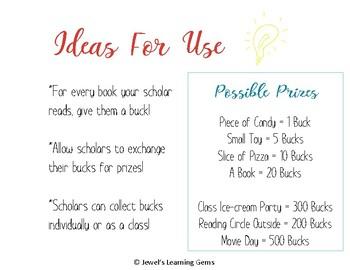 Reading Bucks! Reading Incentive Program