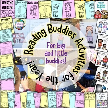 Reading Buddies: Activities for the year!
