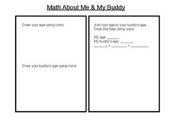 Reading Buddies: A Math Activity