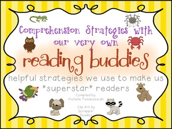 Reading Buddies {Comprehension Strategies with our Animal Friends}