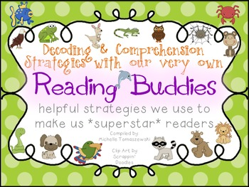 Reading Buddies {Decoding + Comprehension Strategies with our Animal Friends}