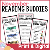 Reading Buddies   Fall Buddy Reading Activities   Digital