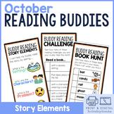 Reading Buddies   Halloween Buddy Reading Activities   Dig