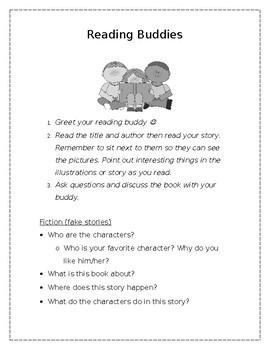 Reading Buddies Intro Sheet