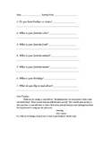 Reading Buddies Questionnaire
