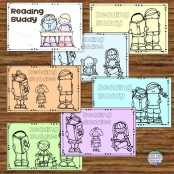 Thank you for being my Reading Buddy! Free card