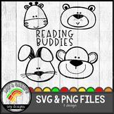 Reading Buddies SVG Design