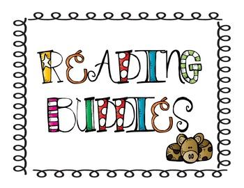 Reading Buddies Sign