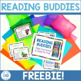 Reading Buddies Tags {FREE PRINTABLE}