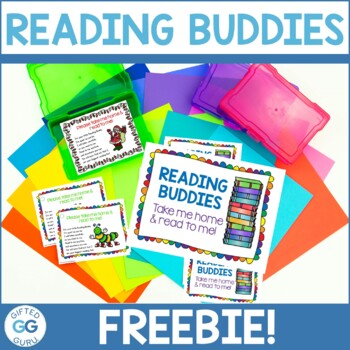 Reading Buddies Tags {FREE PRINTABLE}