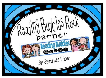 Reading Buddies banner title poster