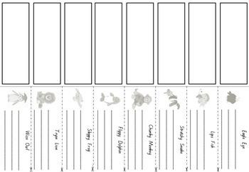 Reading Buddies {decoding Strategies} foldable activity. Animal Buddies