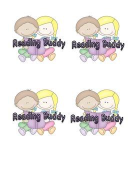 Reading Buddy Badges