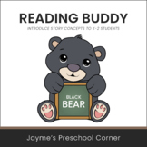 Reading Buddy - Black Bear - Introduce Story Concepts - Di