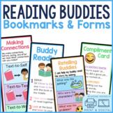 Reading Buddies Bookmarks | Buddy Reading Response Sheets
