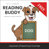 Reading Buddy - Dog - Introduce Story Concepts - Distance