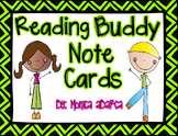 Reading Buddy Notecards