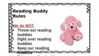 Reading Buddy Rules