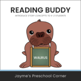 Reading Buddy - Walrus - Introduce Story Concepts or Use o