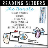 Reading Sliders Interactive Reading Program FULL YEAR BUNDLE