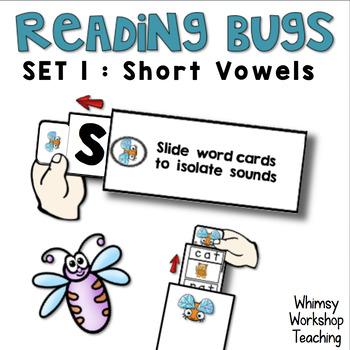 Reading Bugs Set 1 Short Vowels