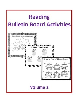 Reading Bulletin Board Activities Volume 2