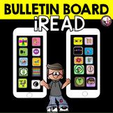 Reading Bulletin Board!  Genres!  Grades 2-5! iRead!