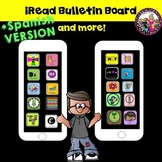 Reading Bulletin Board! Genres! Grades 2-5! SPANISH VERSION!