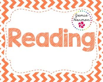 Reading Bulletin Board Header