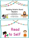 Reading Bulletin Board Headers Half Page