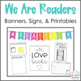 Reading Bulletin Board Set and Printables