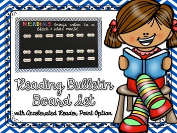 Reading Bulletin Board with Accelerated Reader Point Option