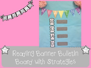 Reading Bulletin Board with Close Reading Strategies