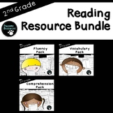 Reading Resource Bundle (2nd Grade-Fluency, Vocabulary, and Comprehension)