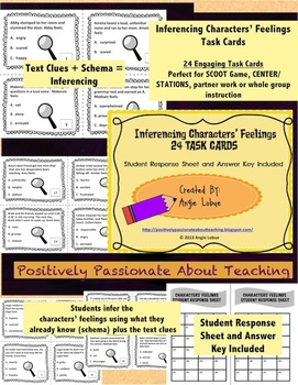 Reading Bundle: Activities, Handouts, and 4 Sets of Task Cards (25% SAVINGS)