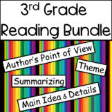 Reading Bundle: Author's Point of View, Citing Text Evidence, Theme and MORE!