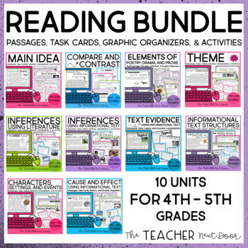 Reading Bundle   Complete Reading Resource