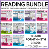 Reading Bundle for 4th and 5th Grades | Distance Learning