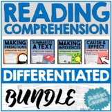 Reading Bundle Differentiated Passages - Predictions, Inferences + more!