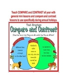 Reading: COMPARE and CONTRAST all year!
