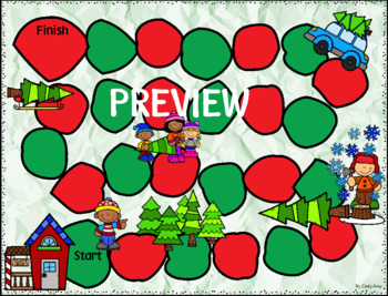 Reading CVC Words ~ Christmas Themed ~ BONUS Oh No! Game