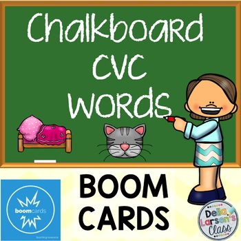Reading CVC Words - BOOM CARDS