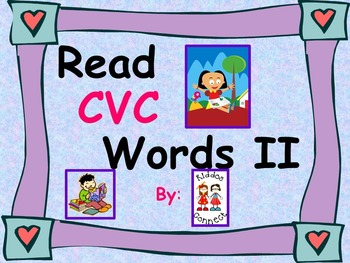 Reading CVC Words II Freebie