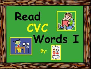 Reading CVC Words freebie