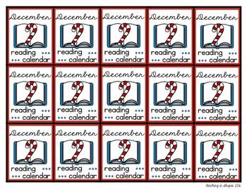 Reading Calendar Brag Tags- Homework Incentive!