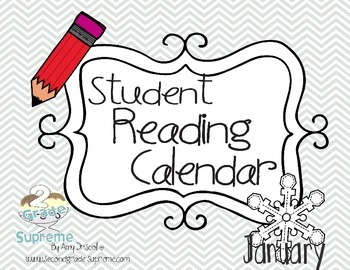 Reading Calendar January 2015