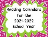 Reading Calendars 2019-2020