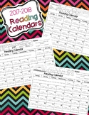 Reading Calendars for 2017-2018 {August-June}